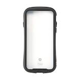 【iPhoneXS/X】 iFace Reflection 強化ガラス クリアケース ブラック