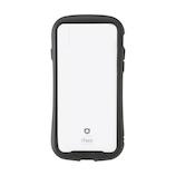 【iPhoneXS Max】 iFace Reflection 強化ガラス クリアケース ブラック