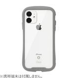 【iPhone11】iFace Reflection 強化ガラスクリアケース グレー