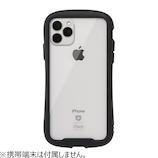 【iPhone11ProMax】iFace Reflection 強化ガラスクリアケース ブラック