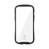 【iPhone12ProMax】 iFace Reflection 強化ガラスクリアケース ブラック│携帯・スマホケース iPhoneケース