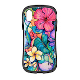 【iPhoneXS/X】 iFace First Class Colleen Wilcox(コリーンウィルコックス) Paradise