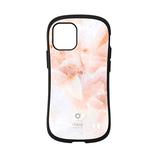 【iPhone12mini】 iFace First Class マーブルケース アプリコット│携帯・スマホケース iPhoneケース