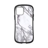 【iPhone12/12Pro】 iFace First Class マーブルケース ホワイト│携帯・スマホケース iPhoneケース