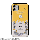【iPhone11/XR】 ディズニー Latootoo カード収納型ミラー付きケース ボタニカルプー│携帯・スマホケース iPhoneケース