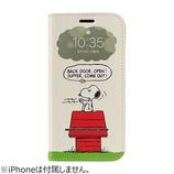 【iPhone11/XR】 PEANUTS フリップ窓付きダイアリーケース スヌーピー ドッグディッシュ│携帯・スマホケース iPhoneケース