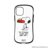 【iPhone12mini】 iFace First Classケース PEANUTS ホワイト│携帯・スマホケース iPhoneケース