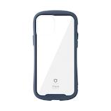 【iPhone12/12Pro】 iFace Reflection 強化ガラスクリアケース ネイビー│携帯・スマホケース iPhoneケース