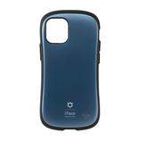【iPhone12mini】 iFace First Class メタリックケース コーラルブルー│携帯・スマホケース iPhoneケース