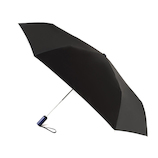 フロータス(FLO(A)TUS) ダブルジャンプ 雨傘 超撥水 UV加工ミニ折傘 54cm ブラック