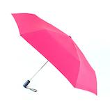 フロータス(FLO(A)TUS) ダブルジャンプ 雨傘 超撥水 UV加工ミニ折傘 54cm ローズピンク