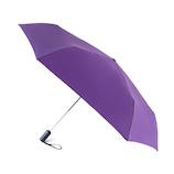 フロータス(FLO(A)TUS) ダブルジャンプ 雨傘 超撥水 UV加工ミニ折傘 54cm パープル