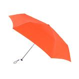 フロータス(FLO(A)TUS) ペンシルミニ 雨傘 超撥水 UV加工ミニ折傘 50cm オレンジ