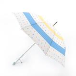 エスタ(estaa) 雨傘 エスタ×ナニイロタキスタイル UV長傘 colorful pocho 58cm ベージュ