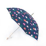 エスタ(estaa) 雨傘 エスタ×ピックサーリ UV長傘 saarist 58cm ネイビーブルー