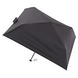 マス(masu) 折りたたみ傘 メンズ 晴雨兼用 パラソル4本骨 無地 ブラック│レインウェア・雨具 折り畳み傘