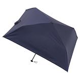 マス(masu) 折りたたみ傘 メンズ 晴雨兼用 パラソル4本骨 無地 ネイビーブルー│レインウェア・雨具 折り畳み傘