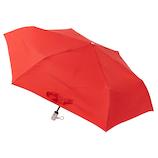 ウラワザ(urawaza) 折りたたみ傘 自動開閉 無地 レッド