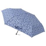 ウラワザ(urawaza) 折りたたみ傘 軽量 トライピクセル ネイビーブルー