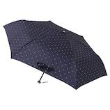 ウラワザ(urawaza) 折りたたみ傘 軽量 スクエアドット ネイビーブルー