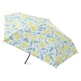 エスタ(estaa) 折りたたみ傘 晴雨兼用 軽量ミニ 1級遮光 レモン レモンイエロー│レインウェア・雨具 折り畳み傘