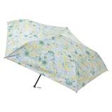 エスタ(estaa) 折りたたみ傘 晴雨兼用 一級遮光P超軽量 ブーケ ライトイエロー│レインウェア・雨具 折り畳み傘