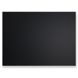 アスミックス(ASMIX) 枠無しブラックボード BB021 ブラック L│掲示用品 黒板
