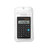 アスミックス(ASMIX) カラー電卓 ポケット C1237 ブラック