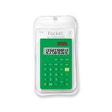アスミックス(ASMIX) カラー電卓ポケット C1237 グリーン│オフィス用品 電卓