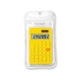 アスミックス(ASMIX) ポケット カラー電卓 C1237 イエロー