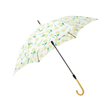 moz×mabu(モズ×モブ) UVカットスリムジャンプ傘 SMV-40955 フラワーイエロー│レインウェア・雨具 傘