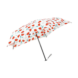 moz×mabu(モズ×モブ) 耐風骨UVカットミニ SMV-40964 フラワーレッド│レインウェア・雨具 折り畳み傘