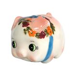 加藤工芸 レトロ豚バンク 小 ピンク