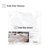 ファブ ザ ホーム(Fab the Home) プレインニット ピローケース M ホワイト│寝具・布団 枕カバー・素材