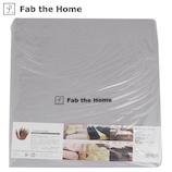 ファブ ザ ホーム(Fab the Home) ソリッド ボックスシーツ S グレイ│寝具・布団 ベッドカバー・シーツ