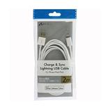 エアージェイ Lightning USBケーブル 2m