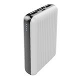 エアージェイ(air−J) コンパクトモバイルバッテリー 10000mAh MB-GB10000 ホワイト