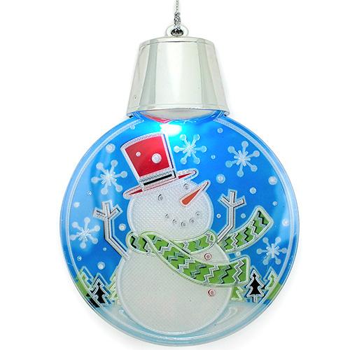 【クリスマス】 フラッシングマグネットオーナメント XTN116SN スノーマン
