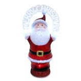 【クリスマス】 フラッシングアーチ サンタ XTN210SN