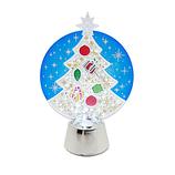 【クリスマス】 フラッシングライト 3Dクリアツリー