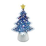 【クリスマス】 フラッシングライト ブルーツリー