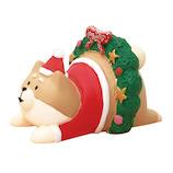 【クリスマス】 デコレ(DECOLE) concombre リースわんこ ZXS−43054