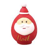 【クリスマス】 デコレ(DECOLE) concombre サンタだるま ZXS−43058