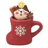 【クリスマス】 デコレ(DECOLE) concombre グリューワイン猫 ZXS−43066