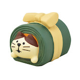 【年賀用品】 デコレ(DECOLE) concombre おせち猫 昆布巻 ZSG−43720