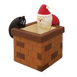 【クリスマス】コンコンブル(concombre) 煙突サンタLED ZXS‐61143