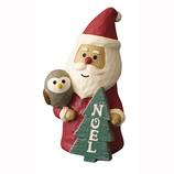 【クリスマス】 DECOLE (デコレ)concombre クリスマスの看板マスコット サンタ