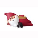 【クリスマス】 DECOLE (デコレ)concombre 冬太りサンタ 猫とゴロ寝