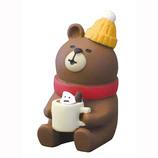 【クリスマス】 DECOLE (デコレ)concombre くりくま ココア