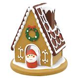 【クリスマス】デコレ(decole) concombre お菓子の家 ミニサンタ付き